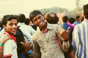 Happy in India