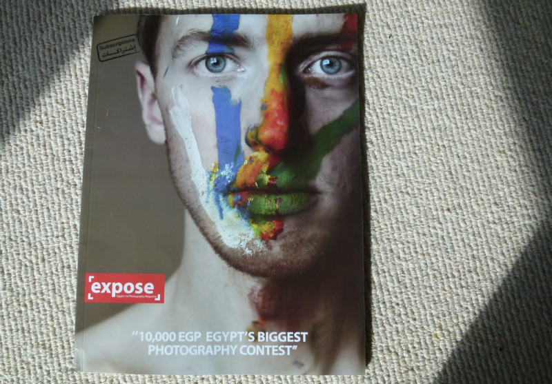 Expose Magazine Cover